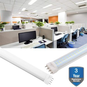 2G11은 튜브 라이트, LED 빛, 10W 12W 15W 18W 22W 25W AC85-265V 시원한 화이트 따뜻한 화이트 4 핀 2G11 PLL 램프, PL 줄을 주도