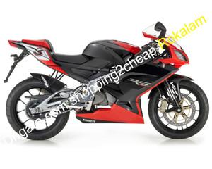 Moto RS125 per Aprilia RS R S 125 2006 2007 2008 2009 2010 2011 Sportbike Nero Rosso Kit Carena (iniezione)