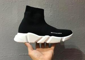 Vitesse Bottes Chaussettes Entraîneur rabais Stretch-Knit Haut Baskets Chaussures Chaussures Sport Noir b Blanc Femme Homme Couples Chaussures Bottes Casual 9A7Y