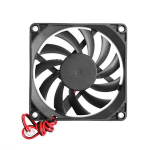 Cooling Fan 5v 2 Pines 80x80x10mm Pc Cpu Broomless Cooling Fan Radiator 8010