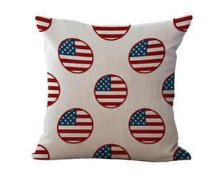 American National Flag Old Glory-Kissenbezug Kissenbezug Leinenbaumwollder Werfen Kissen- Sofa-Bett Hauptdekor Kissenbezug drop ship 240516