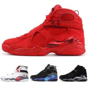 Wholesale 2019 New 8 VIII Alternate Bugs Bunny 8s Black Chrome Men Kids Basketball Shoes Aqua VIII Three Peat Athletic Retro Sneakers Shoes