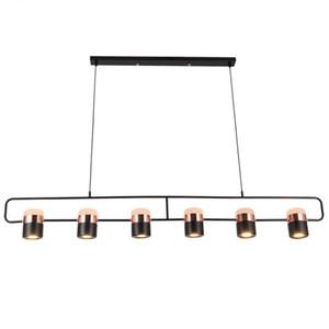 Modernos 360 graus Rotate Luzes pendentes Nordic Originalidade Vintage luminária 90V-260V Cord Droplight Coffee Villa Hanglamp