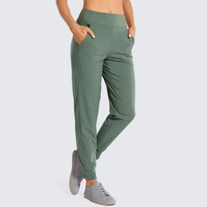 Women's Double Layer Jogger Sweatpants with Zipper Pockets Warm Stretchy Comfy Lounge Pants Elastic Waist(Inseam: 28 inches)