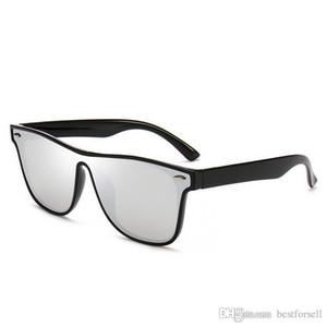 أزياء جديدة نظارات كاملة الإطار الكامل رجل مصمم الصيف نظارات الشمس معكوسة العلامة التجارية نظارات uv400 ظلال مع الحالات