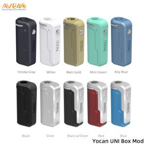 Yocan UNI Box Mod 650mAh Preheat VV Variable Voltage Battery 510 Adapte For Thick Oil Cartridge 100% Original