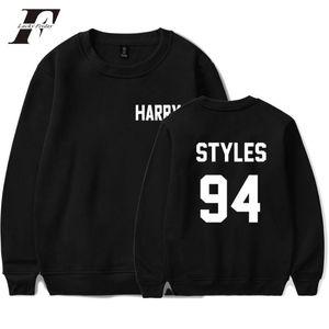 One Direction Harry Styles Harajuku Casual Felpe Uomini Felpa Streetwear O Collo autunno Hoodies degli uomini / donne Fans
