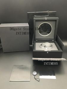 Migliore qualità di vigilanza di nero pieno Orologi scatole trasparenti originale Guarda caso per HUB di vigilanza di Spot Fornitura di orologio di lusso