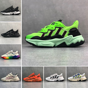 Top Luxury Reflective Xeno Ozweego For Men Women Speed Calabasas Athletic Casual Shoes Trainer Sports Designer Sneakers 36-45