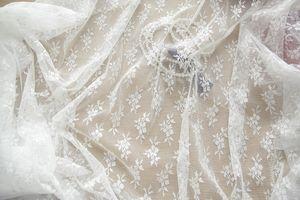 Sem salto, pele - amigável, alta tenacidade, super macio e espesso, transparente hexagonal casamento malha vestido véu de tule tecido LSM20