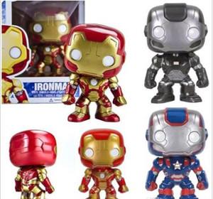 Bravo Funko Pop Iron Man 24 # Q Vervison Anime Action Figure Model Collection Hot Toys Aniversários Hot Sale