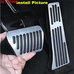 알루미늄 / 고무 자동차 풋 가스 브레이크 페달 패드 커버 키트 BMW 3 4 5 6 7 X3의 X5의 X6의 X7 M Z