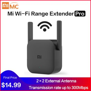 (Presale) global Versão Xiaomi Mi Wi-Fi Range Extender Pro Wifi Amplifier Pro Router 300M 2.4G repetidor de rede Mi Wireless Router Wifi