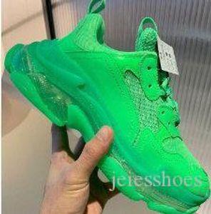 Paris Crystal Bottom Triple-S Leisure Shoes Luxurys Dad Shoes Platform Triple S Sneakers for Mens ssYEzZYSYeZzyv2 350 boost