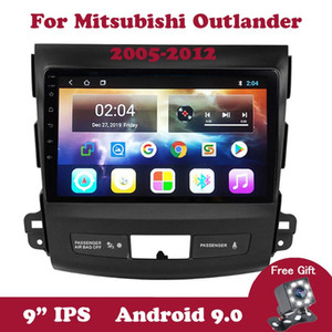 Android 9.0 Car Radio For Mitsubishi Outlander Xl 2 CW0W 2005-2012 DVD Head Unit Multimedia Player GPS Navigation Wifi RDS DVB car dvd