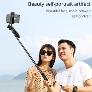 free shipping Smartphone Cell Phone Stabilizer 110cm Adjustable Selfie Stick With Light Mobile Tripod For iPhone Android 1 order
