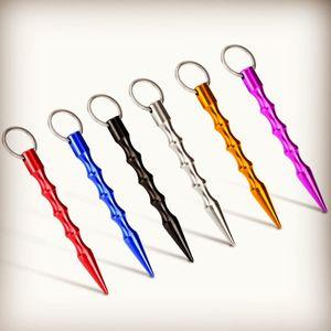 Wholesale Solid Self Defense Key Chain Aluminum Anti Wolf Keychain