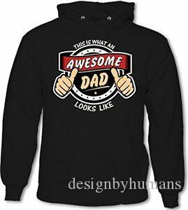 This Is What An AwePrintme Dad Looks Like D3 Mens Funny Father 039 s Day Hoodie