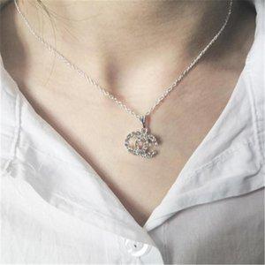 Im Jahr 2020, Großhandel Japan und Südkorea neue Halskette europäische und amerikanische Brief-Halskette Best Selling Linie Anhänger