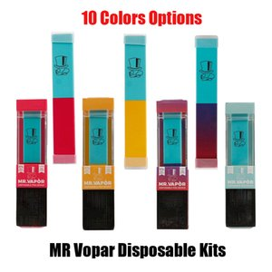Mr vapor desechable Pod 1,3 ml de Vape Dispositivo precargada 280mAh Vacío Cig E Pen Kit de inicio para Air Bar Oro Helix X Niebla