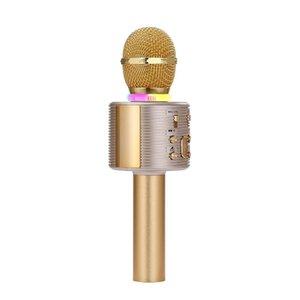 V6 беспроводной Bluetooth Мобильный телефон K-песня конденсаторные микрофон Audio Phone Живая трансляция звуковой карты K-песня Treasure горячие детали