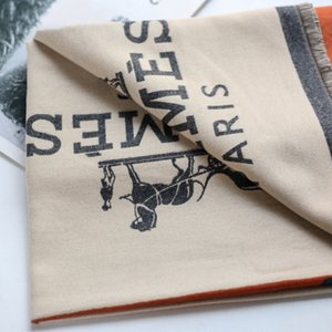 hermes scarf high alphabet Frühjahr / Sommer 2019 Seidenschals Design Seidenschal glänzenden Gold- und Silberfäden Seidenschal Mode für Männer und Frauen weichen dünnen Schal