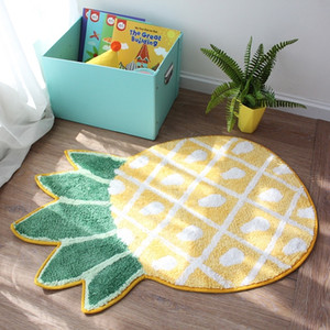 Wholesale 1 Pcs Baby Quilted Play Mats Adorable Slip Resistant Rugs pineapple Carpet Rug Kids Room Decoration