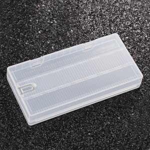 8 PC 18650 Batterie-Kasten-Fall-schützende Plastikspeicher-lichtdurchlässige starke Kästen mit Haken-Halter für 8 * 18650 Batterien DHL geben frei