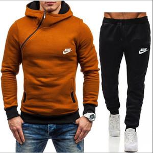 NIKE 2020 Manntrainingsnazug Hip-Hop-Sportbekleidung Damen Pullover Pullover + Hosen-Satz-beiläufige Sport-Training hohe Qualität Jogger Sportanzug