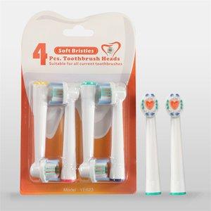 Diş fırçası elektrikli döner diş fırçası kafaları değiştirme kafaları