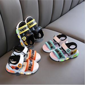 2020 nuove ragazze sandali sportivi estate fondo morbido da bambino di moda antiskid Beach Boys' Shoes piccole e medie scarpe da uomo per bambini
