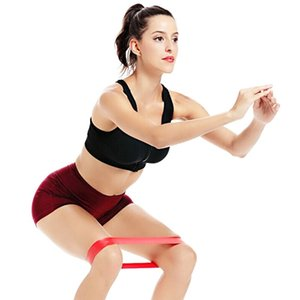 Resistance loop has good resilience, and it can cooperate well with the movements in yoga training Outdoor Fitness Equipments