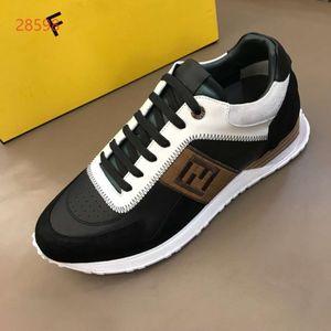 FENDI Fastlane Sneaker Denim Monogram Mans lacent Chaussures de sport Mode Hommes Formateurs en plein air Chaussures Casual et boy5h