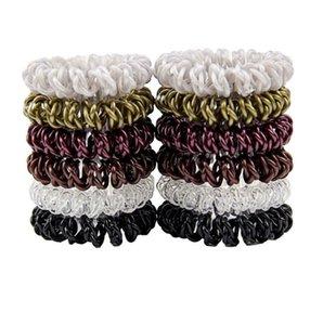 Três Cruz Cabo de Fios de Telefone Headbands para Mulheres Elásticos Faixas de Cabelo Cordas De Borracha Anel de Cabelo Meninas Acessórios Para o Cabelo