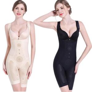 Bodysuit Argamassas e Shapers Plus Size respirável emagrecimento underwear verão finas corpo Shaper das Femininas Faja