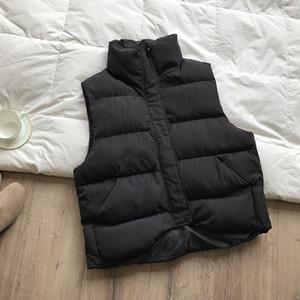 여자의 조끼 재킷 겨울 디자인 패션 최신 여성 조끼 재킷 2019 새로운 여자 럭셔리 캐주얼 패션 후드 힙합 승리