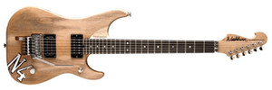BURN N4 Nuno Betancourt Natural Electric Guitar Alder Body Maple Neck Floyd Rose Tremolo Tailpiece Abalone Dot Inlays Chrome Hardware
