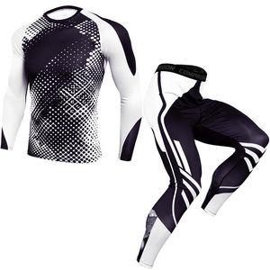 رجل جديد ملابس رياضية للياقة البدنية ضغط مجموعات الدعاوى رجال الرياضة الجمنازيوم تجريب الملابس الركض مجموعات الجري تدريب رياضية