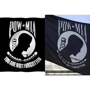 Pirinç TAKOZ ile Savaş Bayrak Of 3x5ft Pow-mia Bayrak-tuval Başlık Ve Çift Dikişli -sen Unutulan Değildir Mahkum