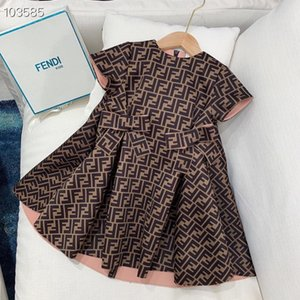 Preorder Çocuk kız moda elbise Tasarım yazlık elbise prenses parti elbise perakende giysi