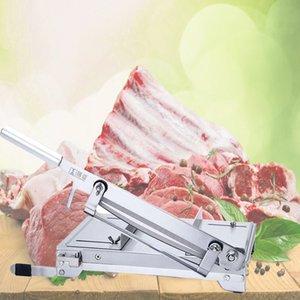 Ménage viande Slicer machine viande congelée os Cutting Machine commerciale de poulet en acier inoxydable canard poisson Côtelettes d'agneau Cutter