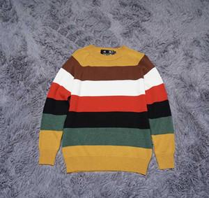 DUYOU nuovo progettista di lusso degli uomini nuovo pullover invernali autunno uomini di marca di abbigliamento di moda a righe maglia maglione maschile di alta qualità