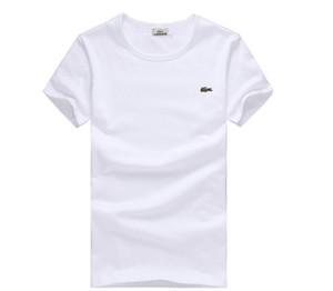 2018 D'été T-shirts Pour Hommes Tops Marque T-shirt Pour Hommes Vêtements T-shirt À Manches Courtes T-shirt Casual T-shirt De Haute Qualité Collants Sport Manches Courtes