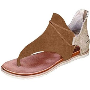 Neue 2020 Frauen-Sommer-Sandalen Nieten große Bowknothalskette Flipflop-Strand-Sandalen Femininas Flach Jelly Designer Sandalen