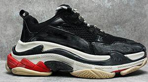 Hot Sale-Unveils New Triple S Running Shoe Paris Man Mixed Colors Thick Heel Grandpa Trainer Shoes size 35-45 03
