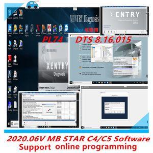 2.020,06 soporte completo de software en línea para la herramienta de programación MB estrella C4 C5 SD conecta diagnosis de la estrella del acuerdo 4 Software multiplexor