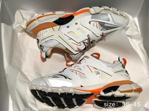 New Triple S Track 3.0 Trainer Herren Sport Laufschuhe Designer Clunky Sneaker Schwarz Orange Damen Walking Luxus Paris Dirty Dad Schuhe