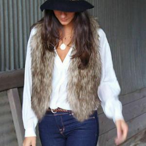 가을 겨울 새로운 패션 여자 여성 따뜻한 양털 조끼 여성 캐주얼상의 자켓 대형 야외 코트 조끼 의상