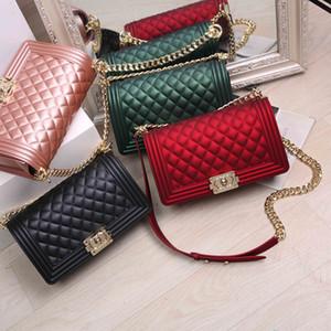 Ruimo bolsa Buzlu tek omuz çantası sırt çantası sırt çantası saten çanta Reticule zinciri Mini kadın