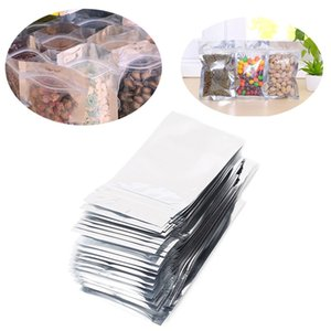 7x13cm pc 50pcs Reclosable Valve Zipper Plastic Retail Packing Pack Bag Zip Lock Ziplock Bag Storage Sample Mylar Package